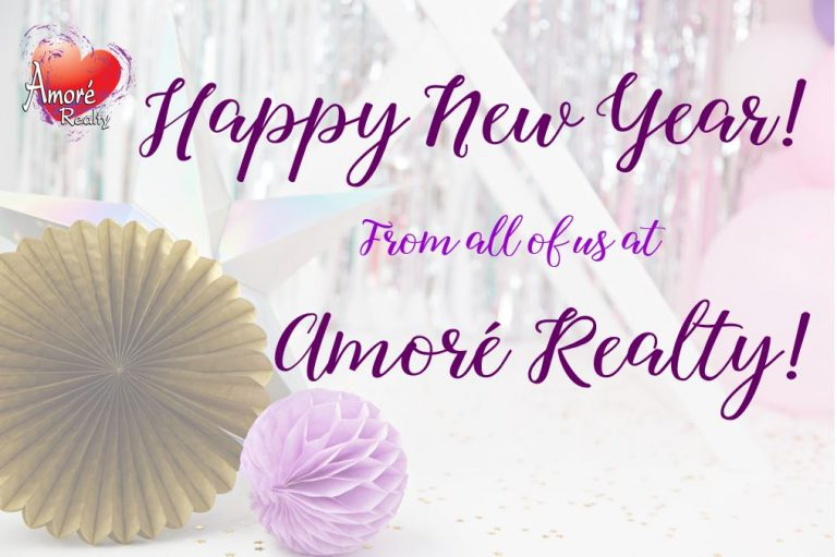 Amore Realty Happy New Year 2019