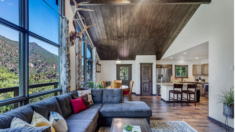 Photo of Living Room with Mountain Views